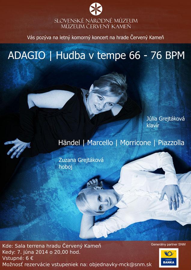 koncert ADAGIO Cerveny Kamen